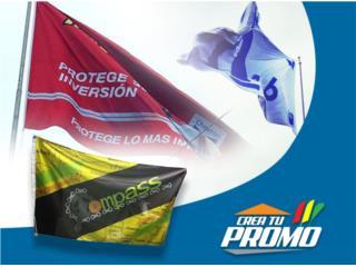 San Juan-R�o Piedras Puerto Rico Sistemas Seguridad - Defensa personal, Creamos todo tipo de banderas **Full Color**