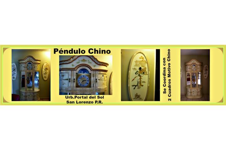 Banca Oriental De Puerto Rico:Oriental furniture Grandfather Clock cabinet Puerto Rico