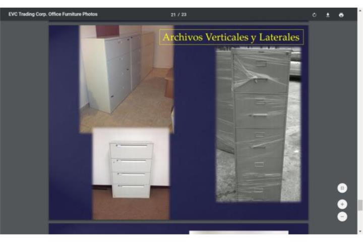 Se rentan muebles de oficina puerto rico for Muebles oficina online