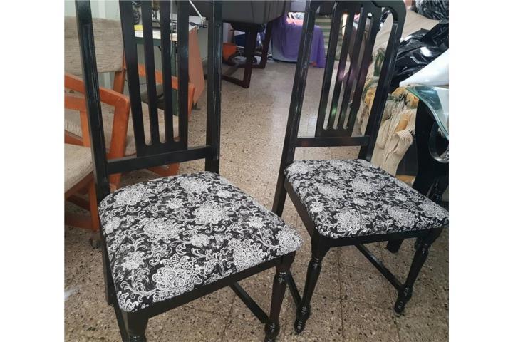 Vendo sillas de comedor puerto rico for Vendo sillas comedor