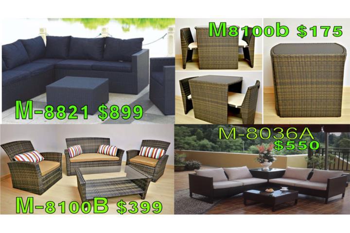 Liquidaci n de muebles de patio puerto rico for Liquidacion de muebles