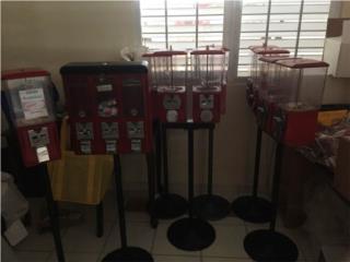 San Juan-Río Piedras Puerto Rico Sistemas Seguridad - Defensa personal, Maquinas expendedoras de dulces y juguetes -