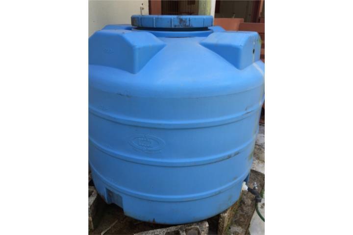 Cisterna tanque agua 200 galones azul 95 puerto rico for Cisterna de agua precio