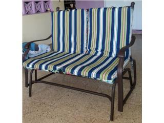 Muebles de patio puerto rico for Juego de terraza usado chile