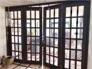 Carolina - Isla Verde Puerto Rico Cerraduras Candados, Puertas Francesas en Madera/herrajes Bronce
