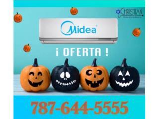 Caguas Puerto Rico Equipo Comercial, MIDEA INVERTER 19SEER, En Especial-Oferta
