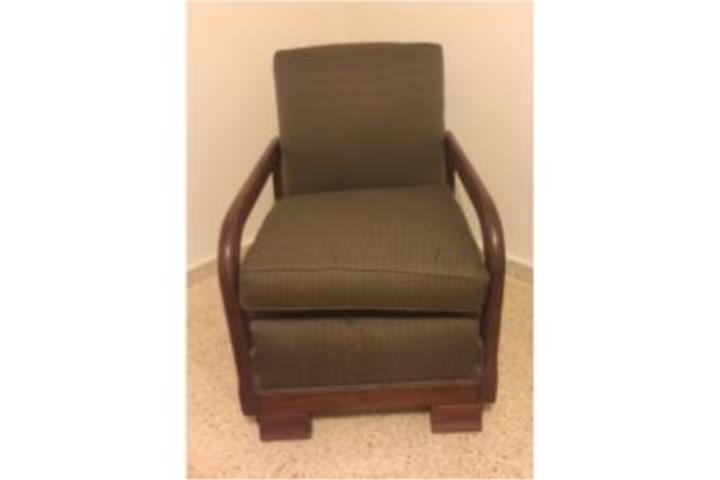 Butaca sillon en madera para habitacion sala puerto rico - Sillon para habitacion ...