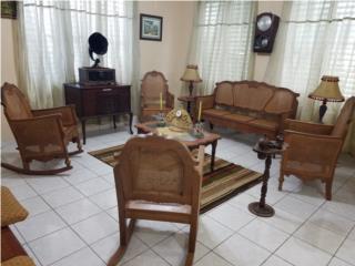 San Juan-Río Piedras Puerto Rico Articulos Decoración, Juego de sala Unico en PR 129 años