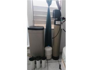 Dorado Puerto Rico cemento ornamental, Filtro de agua en oferta por motivo de viaje