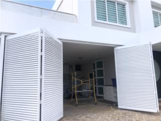 Guayama Puerto Rico Jardineria Equipo, Puerta de Garaje de Metal - Estilo Porton