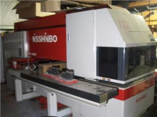 San Juan Puerto Rico Oficina, 22 Ton NISSHINBO CNC Punch Press Model 1000S