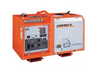 San Juan-Santurce Puerto Rico Herramientas, Generatores Kubota Lowboy GL-7000 & GL-11000