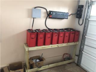 Bayamón Puerto Rico Herramientas, Baterias solares Rolls 6 V S-550