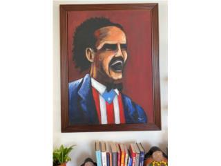 Isabela Puerto Rico Enseres Otros, Pintura - imagen de Albizu Campos