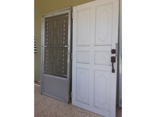 San Juan - Río Piedras Puerto Rico Plantas Electricas, Tengo puerta de madera solida y screen door barata