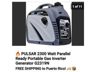 San Juan - Santurce Puerto Rico Materiales de Construccion, Planta electrica Inverter