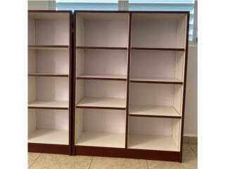 Caguas Puerto Rico Equipo Construccion, Libreros hecho de 100% PVC