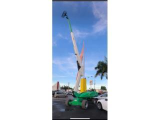 San Juan - Hato Rey Puerto Rico Vagones, BOOM LIFT JLG ARTICULADO