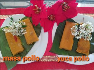 San Juan - Río Piedras Puerto Rico COVID-19 Face Shields, Pasteles de masa o yuca