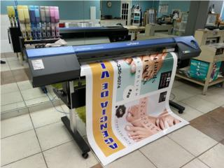 "Isabela Puerto Rico Rotulacion, Roland Versa Camm Print & Cut 54"""
