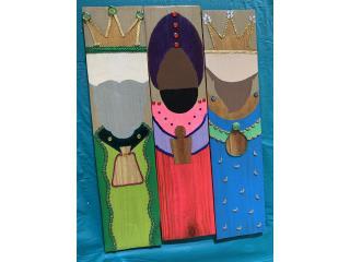 Isabela Puerto Rico Plantas Electricas, Reyes magos artesanales variedad