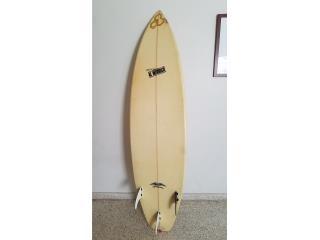 Caguas Puerto Rico Billares, Tabla de surf Al Merrick 6'6