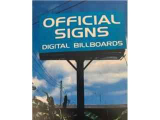 Vega Baja Puerto Rico Sistemas Seguridad - Alarmas, PANTALLA DIGITAL (BILLBOARD)