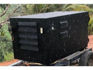 Santa Isabel Puerto Rico cemento ornamental, Generador Diésel Kubota 15,000 watts