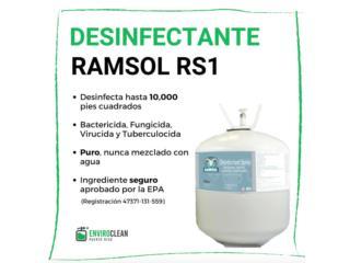 Vega Alta Puerto Rico COVID-19 Equipo Protección, Desinfectante Industrial Ramsol RS1