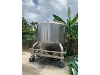 San Juan Puerto Rico Vagones, Tanque Industrial 2000gls FDA, ANSI y NSF
