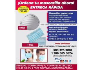 Clasificados COVID-19 Equipo Protección Puerto Rico
