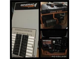 Carolina Puerto Rico Mattreses, Generador GENERAC GP 15000E