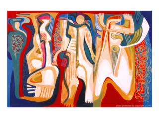 Caguas Puerto Rico Artesanias, Arte, Augusto Marín, Arabescus