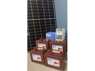 San Juan - Santurce Puerto Rico Enseres Otros, Kit Solar con Iversor de 2KW
