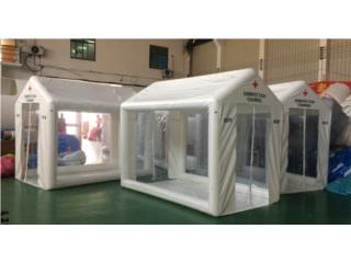 Isabela Puerto Rico COVID-19 Hand Sanitizer, COVID DISINFECTING TENT 9'X8.5'X6.5'