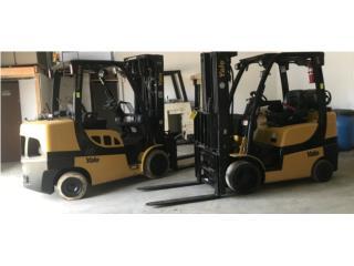 San Juan - Hato Rey Puerto Rico Vagones, Forklift ( montacarga) Yale del 2015 y 2019