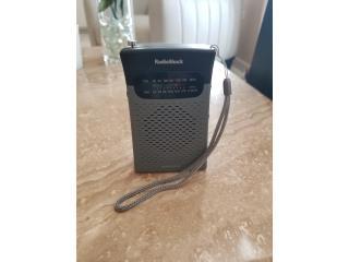 Guaynabo Puerto Rico Arboles Plantas Flores, Vintage Pocket Radio de Radio Shack