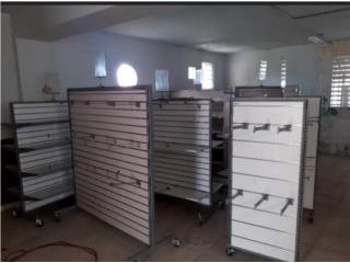 Guaynabo Puerto Rico Equipo Comercial, Venta liquidación Gondolas para tiendas $200