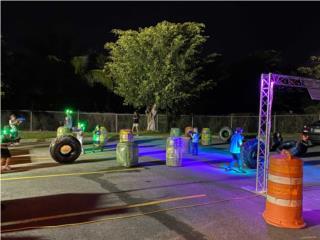 Caguas Puerto Rico Equipo Construccion, Sistema de Laser Tag profesional