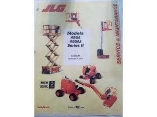San Juan - Hato Rey Puerto Rico Sistemas Seguridad - Alarmas, JLG 450A BOOM LIFT AND JLG SCISSOR LIFT