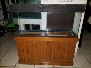 pecera 55 galones con mueble Puerto Rico