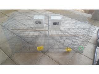 jaula doble con nidos  $30 Puerto Rico