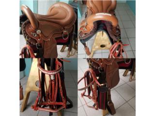 Silla para caballo acojinada Puerto Rico