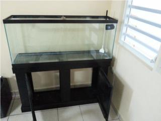 Pecera con mueble 55gls Puerto Rico