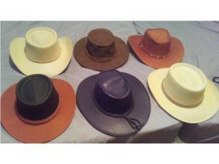 Venta de sombreros en cuero Puerto Rico
