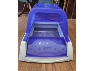 Self cleaning cat litter box  Puerto Rico