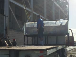 Venta de peceras grandes en acrílico  Puerto Rico