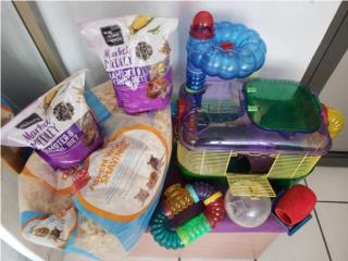 Jaula para Hamsters divertida incluye todo Puerto Rico