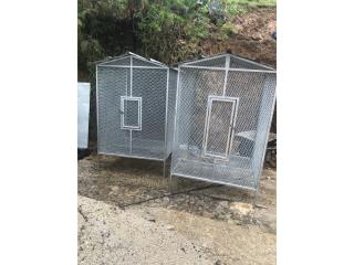 Jaula nueva en metal de 4x4 por 6 pies de alto Puerto Rico