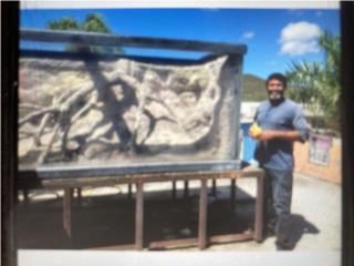 Peceras gigantes en acrílico Puerto Rico